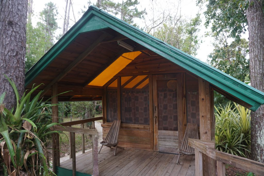 FOREST CABANAS AT THE TROPICAL EDUCATION CENTER