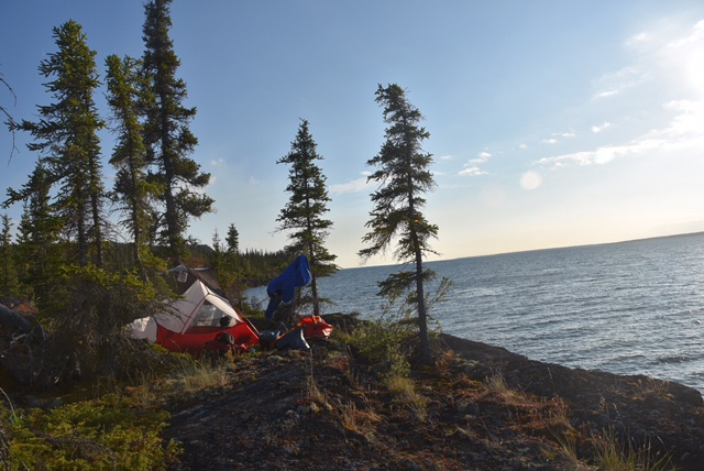 First Night's Campsite, Blanchett Island