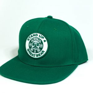 Standup4Greatbear Wool Hat Green